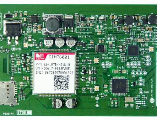 Bluetooth 5 to 4G LTE Gateway